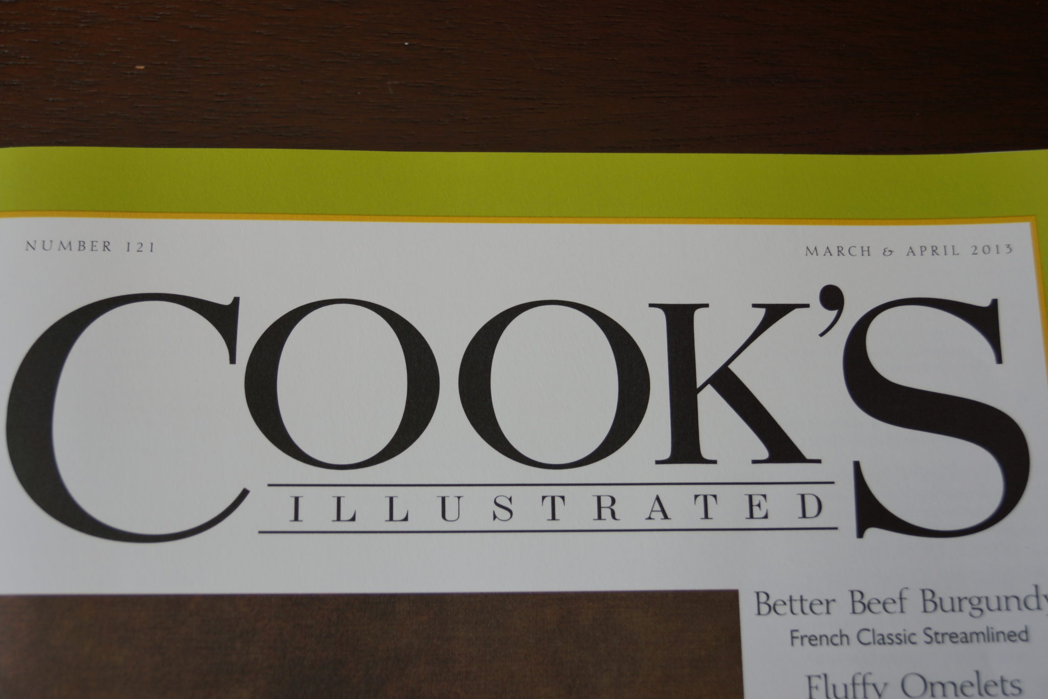 Cook's Illustrated ブログ